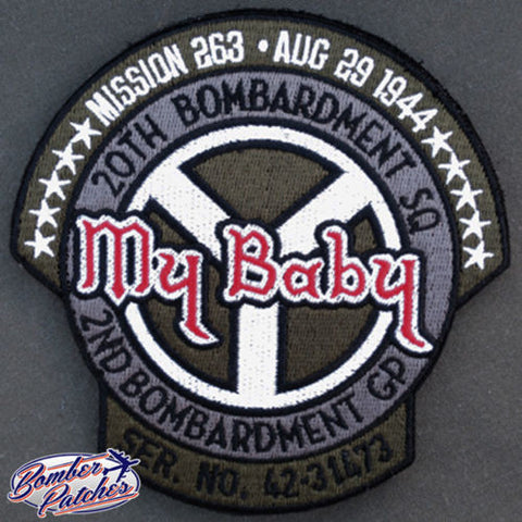 B-17 Commemorative Nose Art Patch, MY BABY
