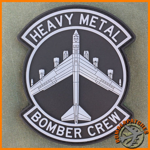 HEAVY METAL BOMBER CREW MORALE PATCH