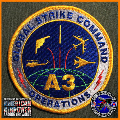 GLOBAL STRIKE A3 OPERATIONS PATCH