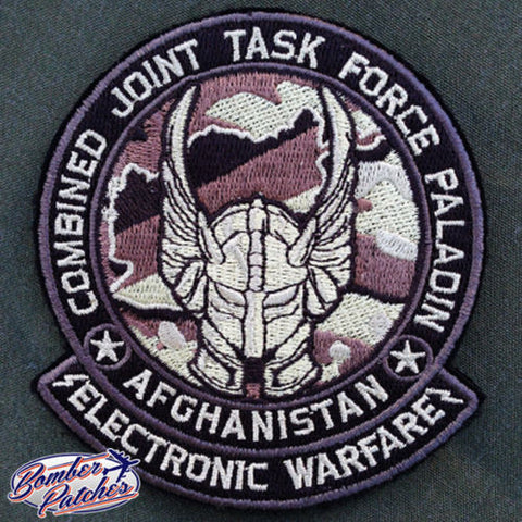 COMBINED JOINT TASK FORCE PALADIN PATCH, ELECTRONIC WARFARE, 101ST AIRBORNE CJTF