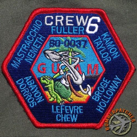 69 Expeditionary Bomb Squadron Guam HARD CREW 6