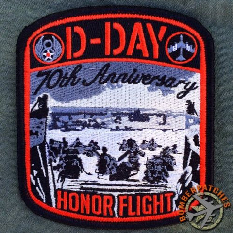 D-DAY 70th Anniv Fly By Crew Patch, RAF FAIRFORD
