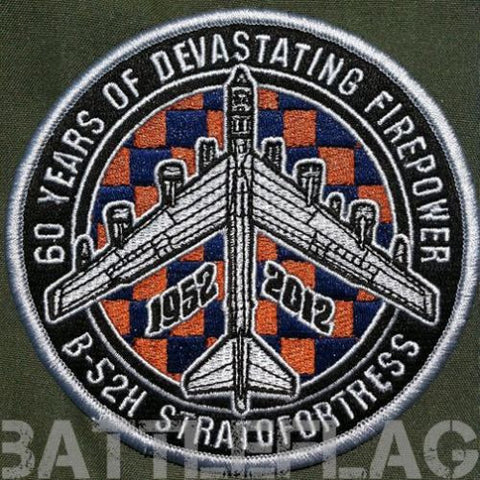 93d Bomb Squadron B-52 Stratofortress 60th Anniversary Patch
