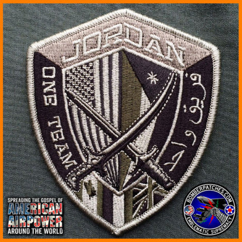 CURRENT MULTICAM CENTCOM FORWARD PATCH US CENTRAL COMMAND HQ AMMAN, JORDAN