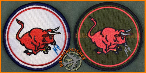 185th Air Refueling Squadron Heritage Patch SET