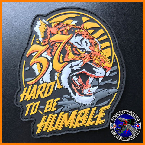 37th Bomb Squadron Hard to be Humble PVC Morale Patch