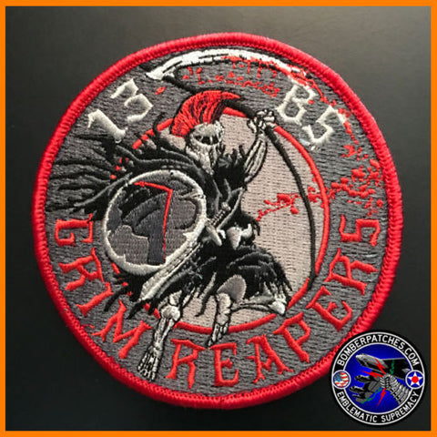 13th Bomb Squadron 2016 Deployment Patch Grim Reapers
