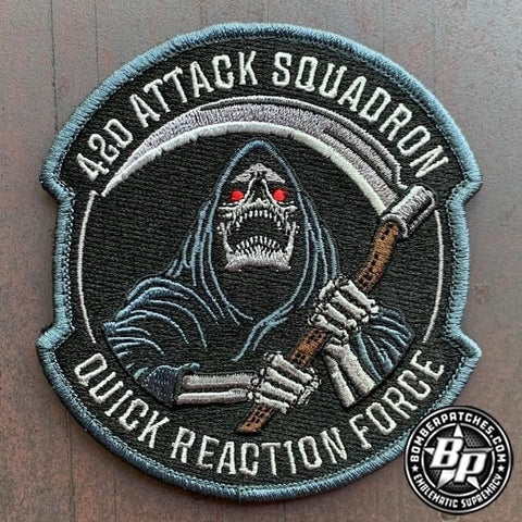 42nd Attack Squadron Quick Reaction Force Full Color