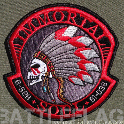 B-52 Stratofortress IMMORTAL SOUL Noseart Collector's Patch