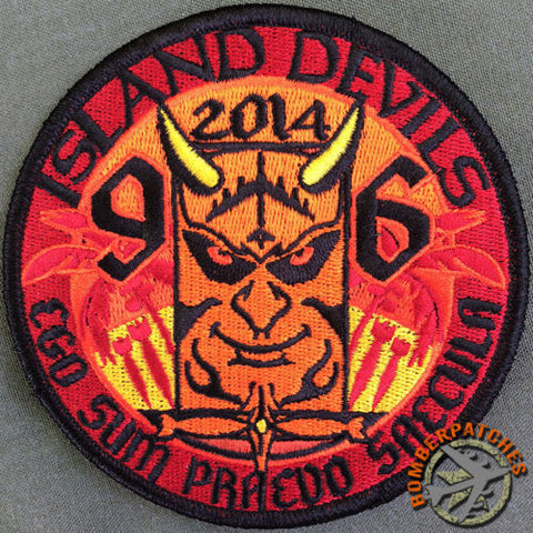 96th Bomb Squadron Deployment Patch 2014