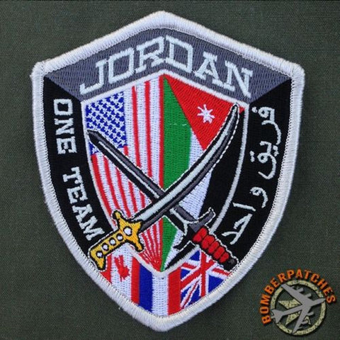 1ST ARMORED DIVISION CENTCOM FORWARD PATCH, US CENTRAL COMMAND HQ AMMAN, JORDAN
