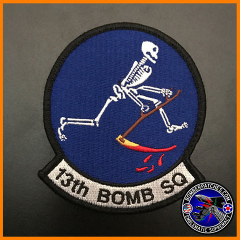 13th Bomb Squadron Full Color Squadron Patch