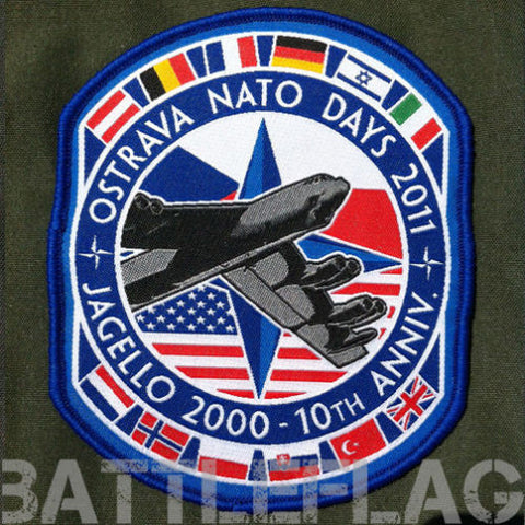 AUTHENTIC 2011 NATO DAYS B-52 PATCH, CZECH REPUBLIC