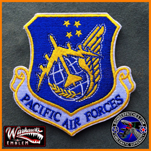 Pacific Air Forces Pacaf Command Patch B 52 Version 23d