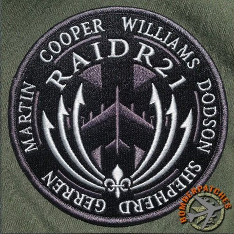 RAIDR21 Memorial Tribute Patch