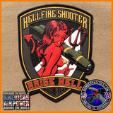 AGM-114 HELLFIRE SHOOTER PVC MORALE PATCH