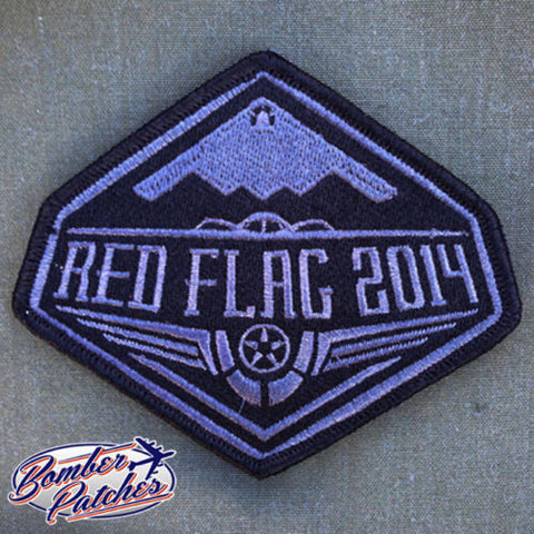 B-2 Spirit 509th Bomb Wing Red Flag Patch