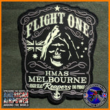 "HMAS MELBOURNE REAPERS ""FLIGHT ONE"" S-70B SEAHAWK PATCH, ROYAL AUSTRALIAN NAVY"
