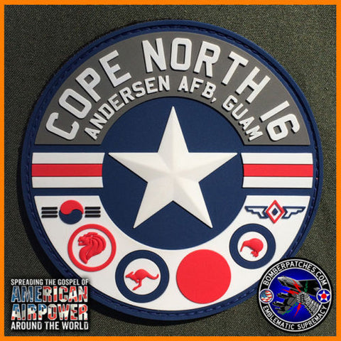 LIMITED COPE NORTH 2016 PVC Patch