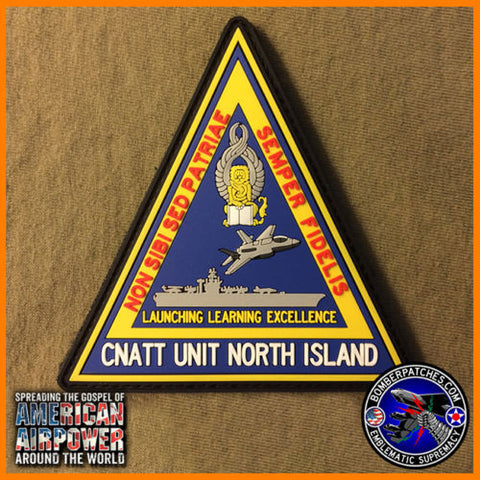 USN CNATT Center for Naval Aviation Technical Training NORTH ISLAND CA PVC Patch