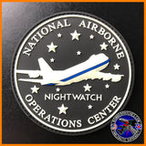 E-4B NIGHTWATCH NAOC National Airborne Operations Center PVC Patch