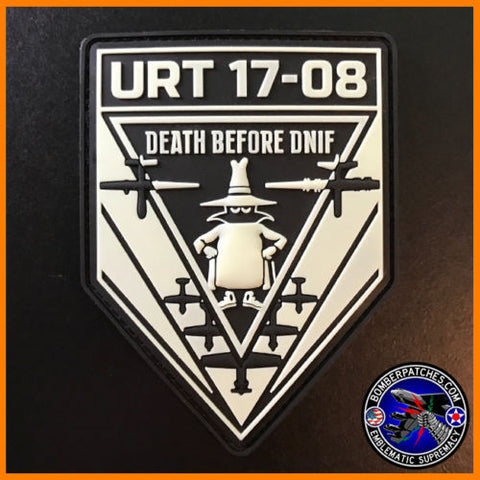 Undergraduate Remotely-Piloted Training Class 17-08 PVC Patch Glow In The Dark