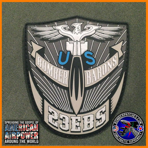 23d Expeditionary Bomb Squadron Deployment PVC Patch 2015 16 B-52 Minot AFB USAF
