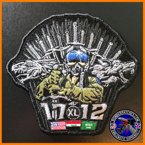 UPT Class 17-12 Embroidered Patch Game of Thrones Inspired T-6 Texan