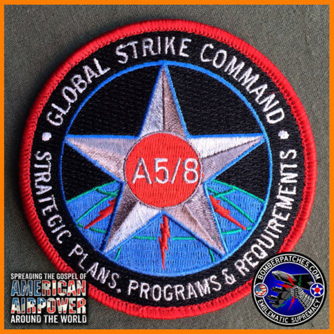 GLOBAL STRIKE A5/8 Stategic Plans Program & Requirements Patch