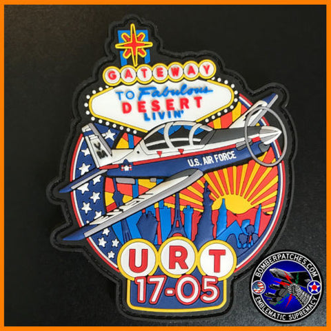 Undergraduate Remotely-Piloted Training Class 17-05 PVC Patch