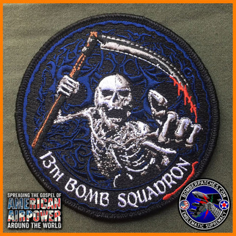 13th Bomb Squadron EBS 2015 Deployment Patch