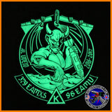 B-52 379 EAMXS 96th Expeditionary Aircraft Maint Unit PVC Patch Al Udeid AB GLOW