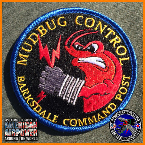 BARKSDALE AFB COMMAND POST PATCH