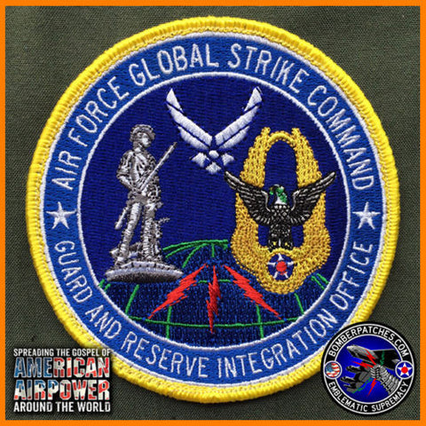 GLOBAL STRIKE COMMAND GUARD RESERVE INTEGRATION OFFICE PATCH