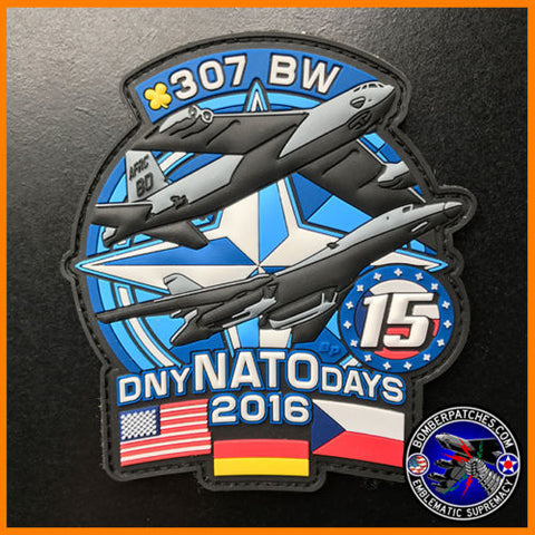 307th Bomb Wing NATO Days 2016 PVC Patch