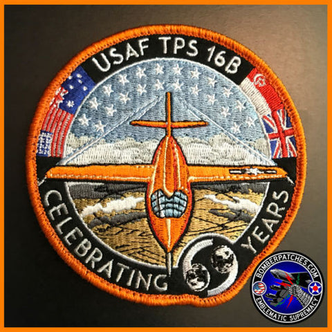 Air Force Test Pilot School Class 16B Patch, X-1 Commemorative, 69th BS Version