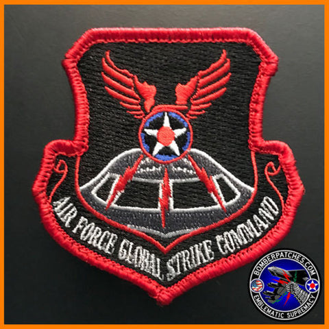 13th BOMB SQUADRON AIR FORCE GLOBAL STRIKE MORALE COMMAND PATCH, B-2 SPIRIT USAF