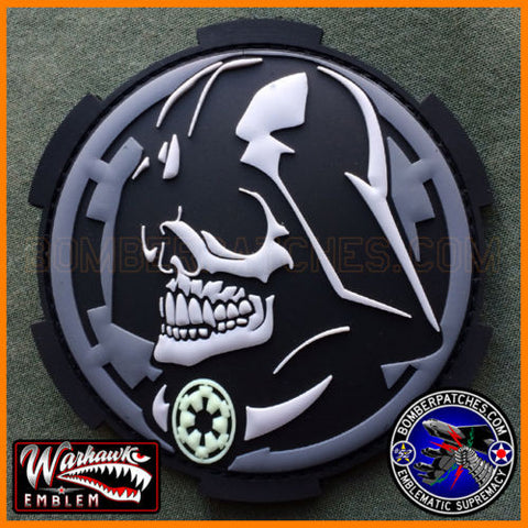 Darth Vader Inspired PVC Patch