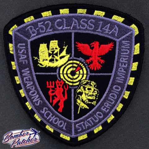 B-52 Weapons School Class 14A Patch