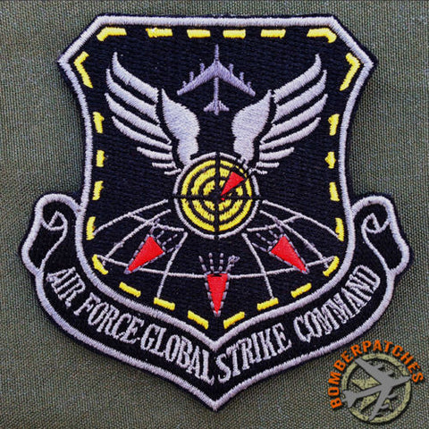 NEW B-52 Weapons School Global Strike Command Morale Patch