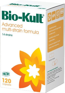 BioKult Advanced Multistrain Probiotic Formula 120 Capsules