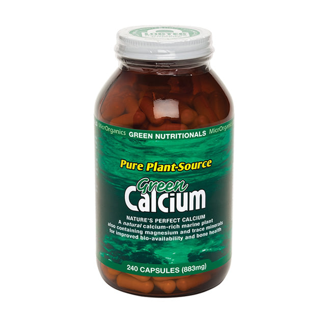 Green Nutritionals Green Calcium Capsules 240s