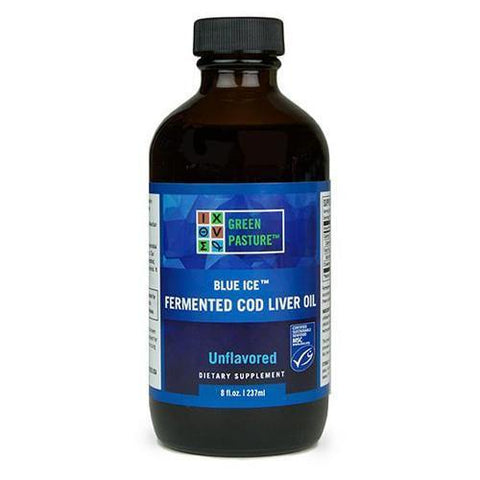 Green Pastures Blue Ice Fermented Cod Liver Oil 237ml