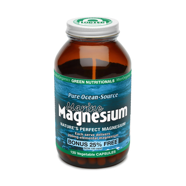 GREEN NUTRITIONALS Marine Magnesium 120 caps