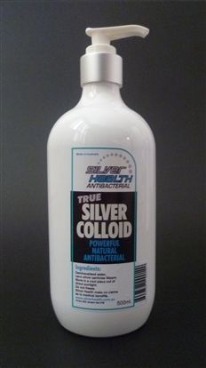 Silver Health Pure Silver Colloid 500ml