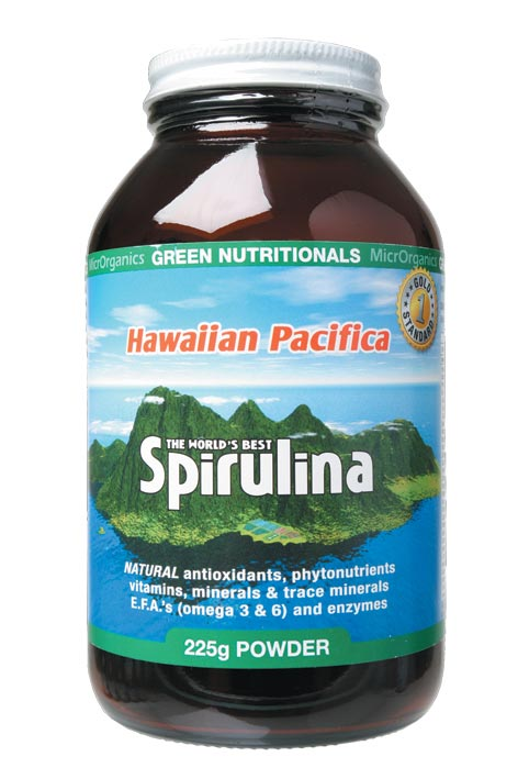 Green Nutritionals Hawaiian Pacifica Spirulina 225g