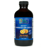 Green Pastures Blue Ice Fermented Cod liver Oil Oslo Orange 237ml