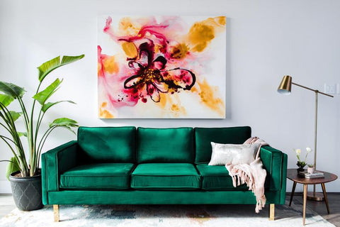 Edloe Finch Lexington Sofa Green