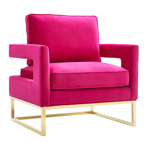 TOV-Furniture-Modern-Avery-Pink-Velvet-Chair