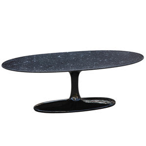 Finemod Imports Modern Flower Coffee Table Oval Fiberglass FMI10064-Minimal & Modern